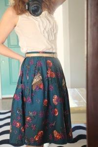 modcloth light and aviary skirt
